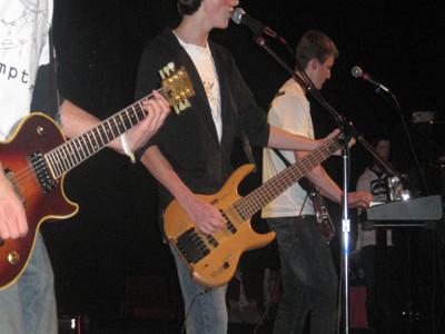 King creates music in Christian rock band