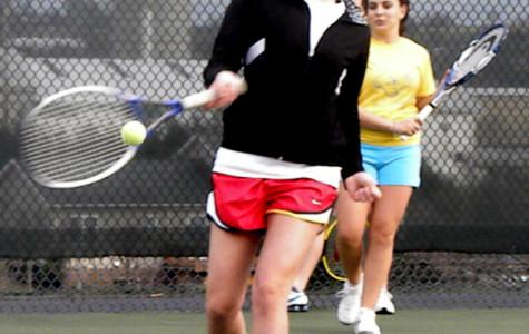 Freshmen players important addition to girls tennis team