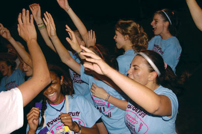 Your Opinion: Who will win the Powderpuff Football game?