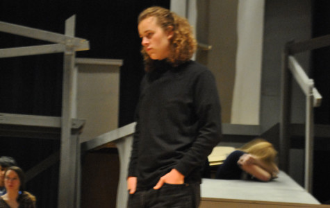Musical 2012: Hunter-Nickels practices for Les Mis debut