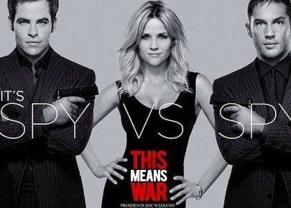 Opinion: This Means War a silly Rom-Com romp