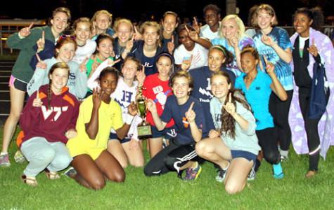 Girls Track Team Wins District Championship
