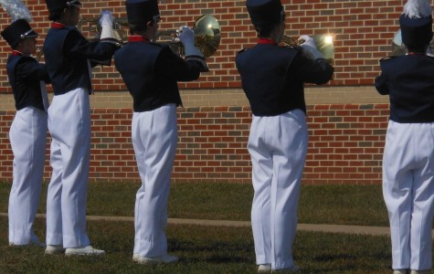 HHS Marching Blue Streaks earn third overall at Millbrook Pre-Festival Showcase
