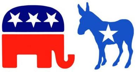 The two dominant political parties butt heads once again.