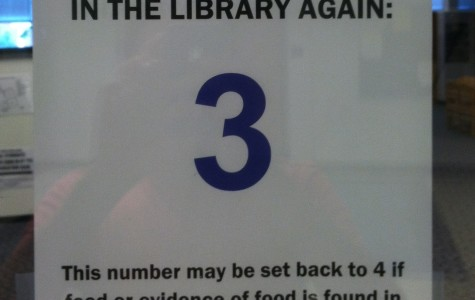 Open area eating policy in library remains banned