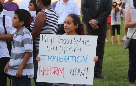 Congressman Luis Gutiérrez excited Harrisonburg with his support for immigration reform
