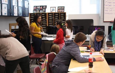 Newsstreak Staff interviewed by Poynter Institute on middle school journalism workshops