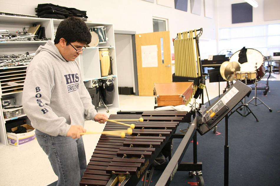 Band students prepare for All-State auditions