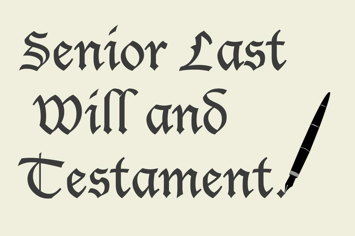 Funny Last Will And Testament Template