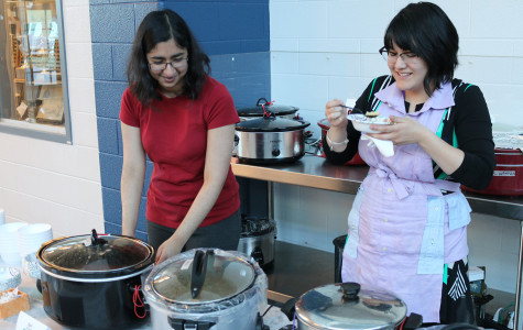 Soup night serves up entertainment, art and food