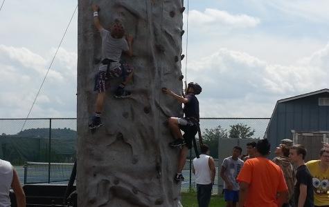 JROTC gets rock wall to boost training