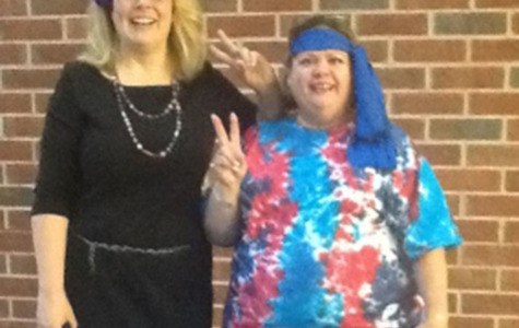 Teachers and students participate in Spirit Week