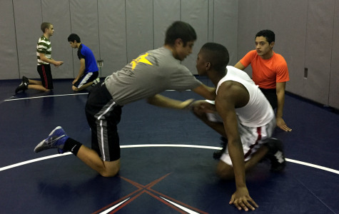Q/A with wrestling team