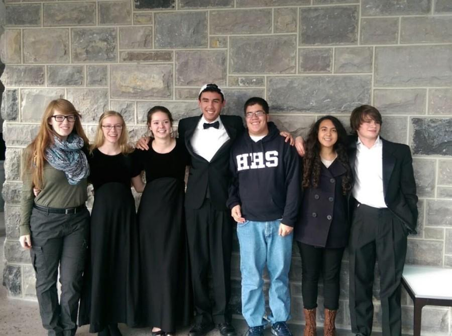 Members of the HHS band traveled to VT for Honors Band