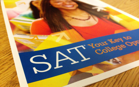 Students take SAT for the first time