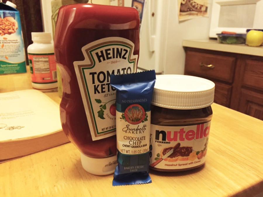 Reynolds betrayed by Nutella