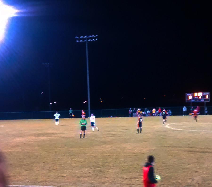 Varsity+soccer+team+ties+with+Charlottesville