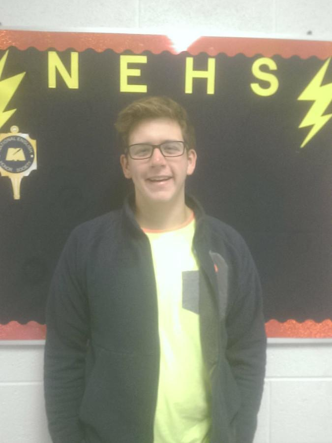 Josh Byrd was nominated to be on homecoming court.