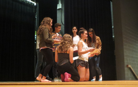 Gallery: One Act rehearses for upcoming competitions