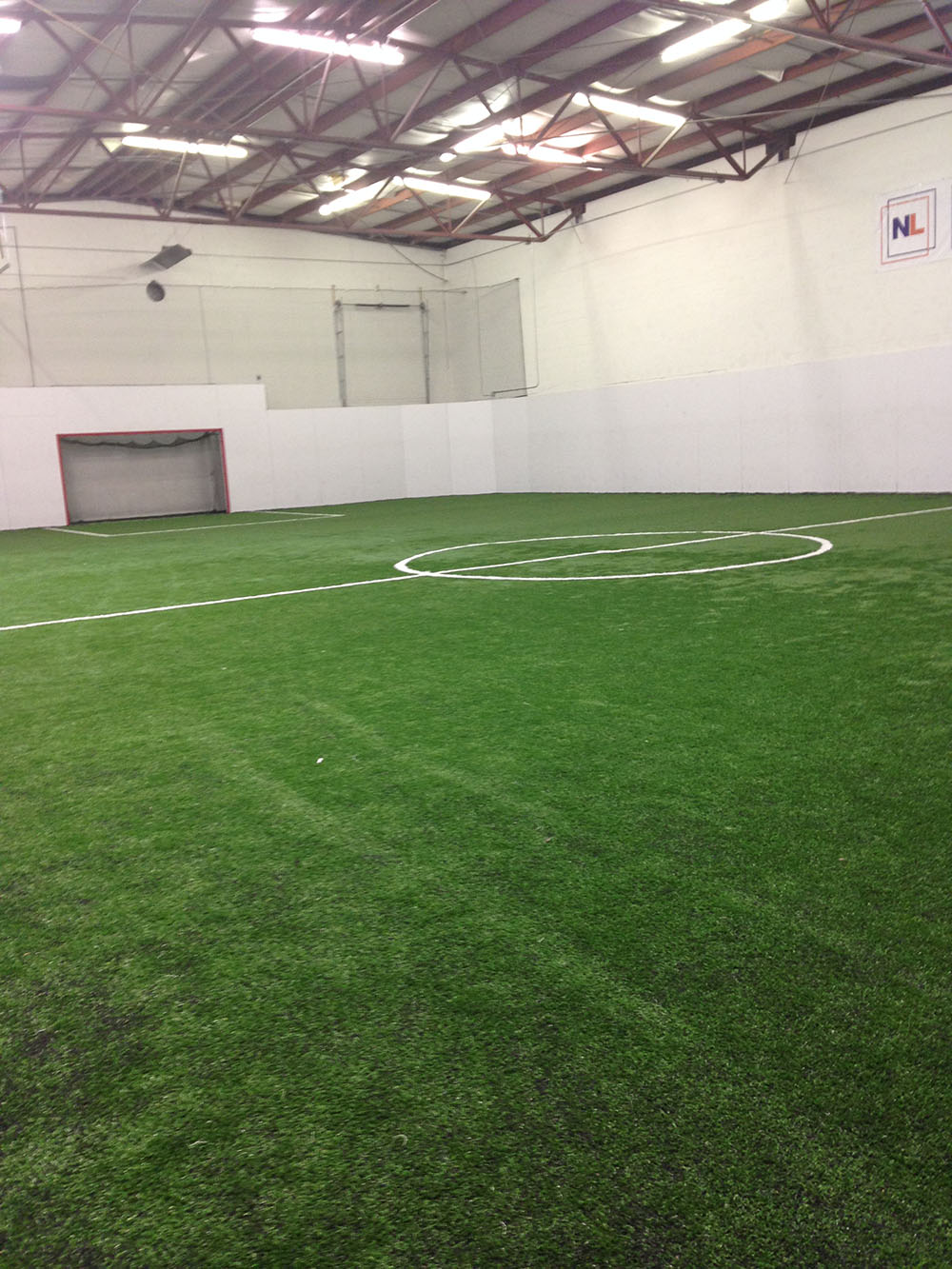 This Indoor Turf Field At Next Level Athletic Development Center Is The Site Of All Futsal