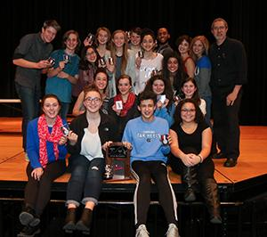 One act places second in state competition