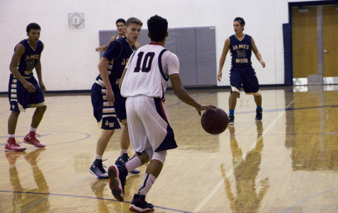 Photo Gallery: Varsity Basketball vs. James Wood