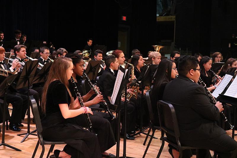 Final band concert