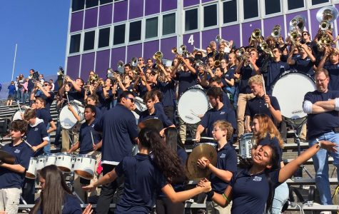 Band performs twice in one day