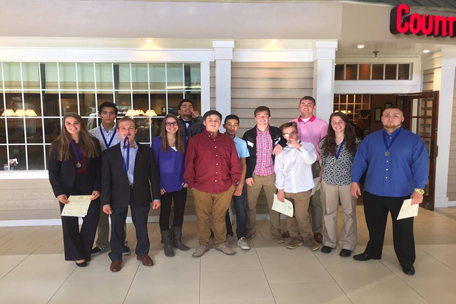 DECA takes first at regionals