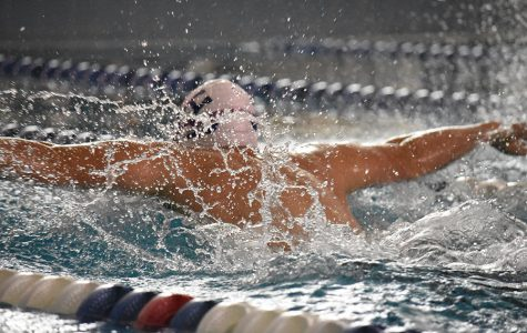 HHS swim hosts Broadway at home