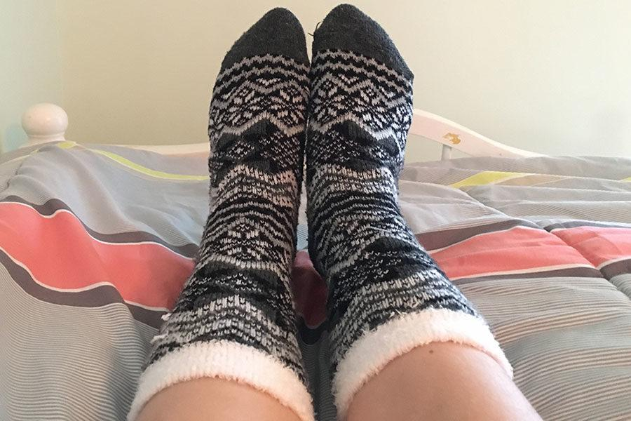 After testing the sock theory for herself, Emma Lankford still disagrees with wearing socks to bed.