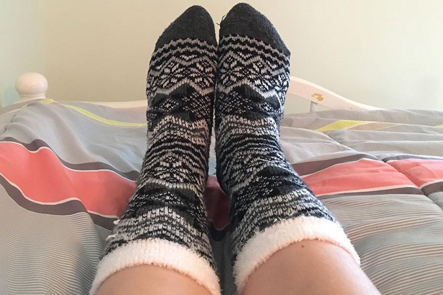 Socks suffocate feet - HHS Media
