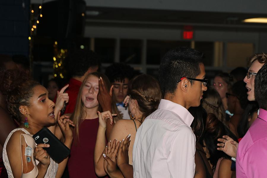 Students had the opportunity to dress in any attire at this year's homecoming dance.