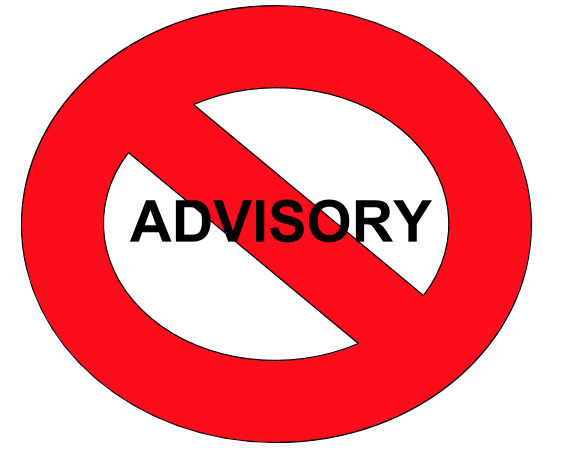 Advisory period is unnecessary