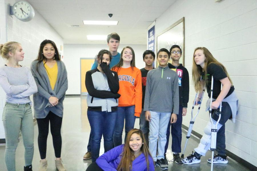 At one of their sessions, middle schoolers learn to work with photography.