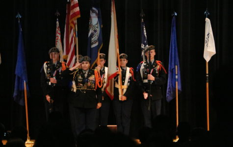 JROTC award ceremony
