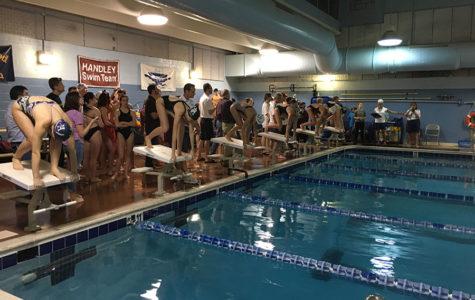 Swim team competes at Jim Barnett Park