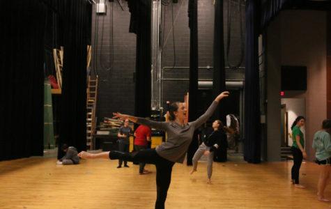 Luhn balances dance and track
