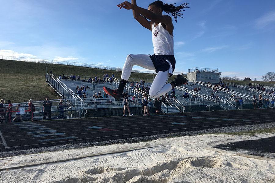 ___ ___ long jump
