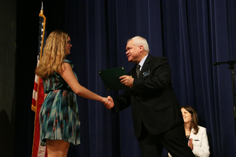 Senior awards assembly presents scholarships