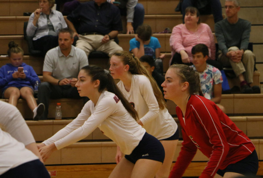 JV, varsity volleyball lose against Turner Ashby