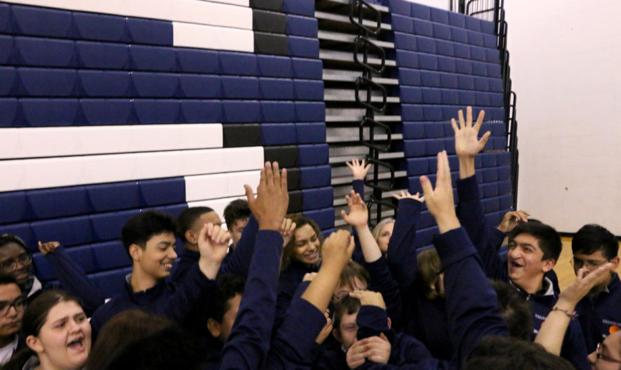Unified basketball team receives surprise