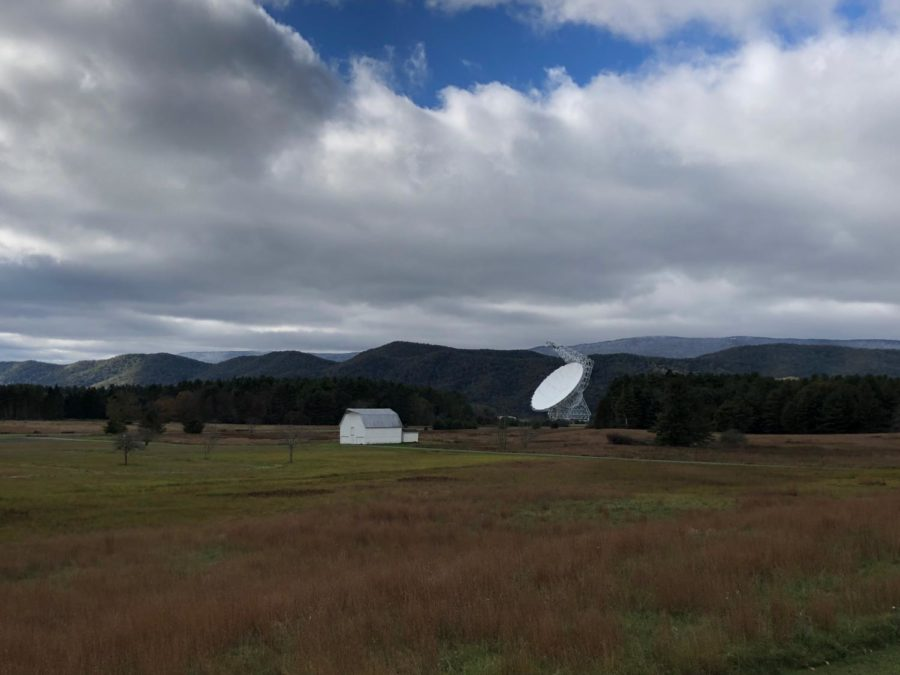 The Robert C. Byrd Green Bank Telescope has a diameter of 100 meters, making it the world's largest fully steerable radio telescope.