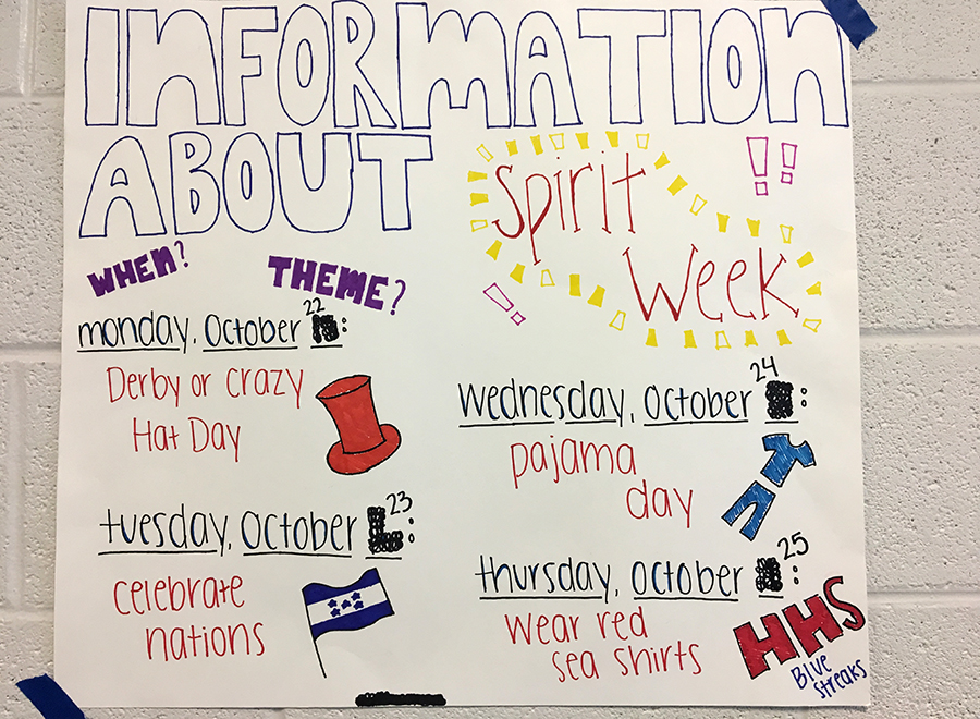 Changing Spirit Week posters shows disrespect