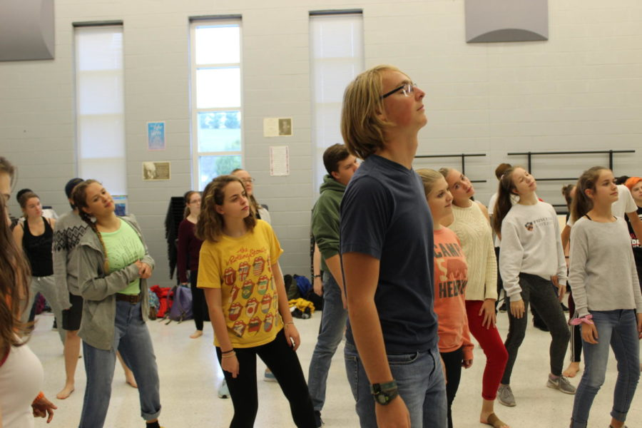 Dance workshop held during ELT