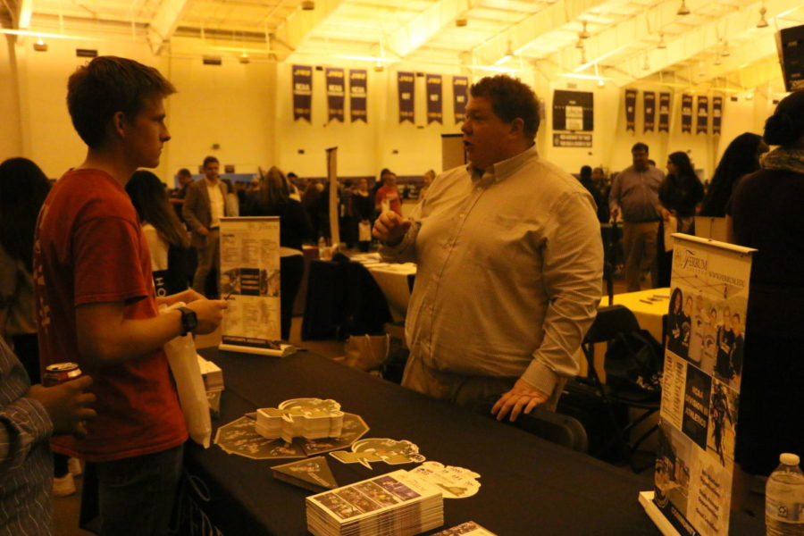 JMU holds College Night for high school students