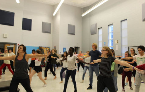 Dancers prepare for first Fine Arts showcase