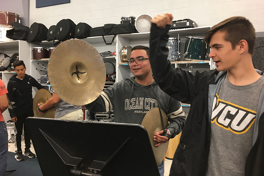 Band and special education students participate in United Sound