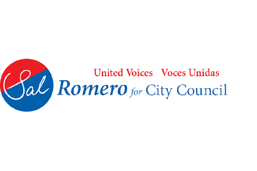 Romero's campaign promoted phrases in both English and Spanish as Romero takes pride in his bilingual roots.