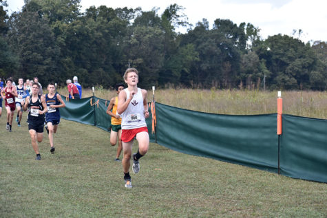Cross country hosts regional meet